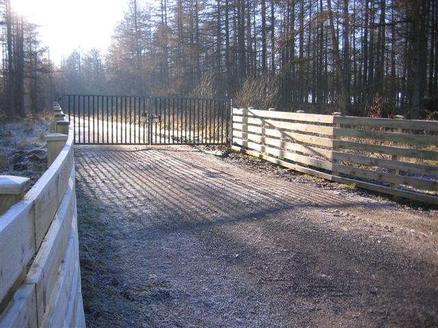 An entrance to Greystoke Forest.