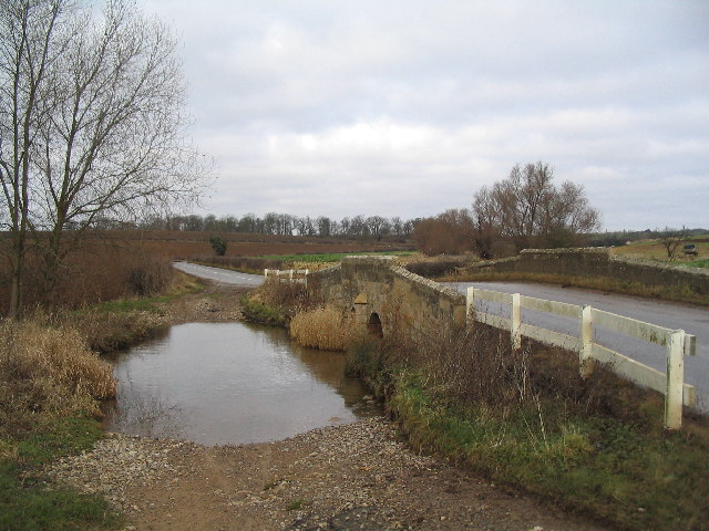 Bridge and ford on B1176