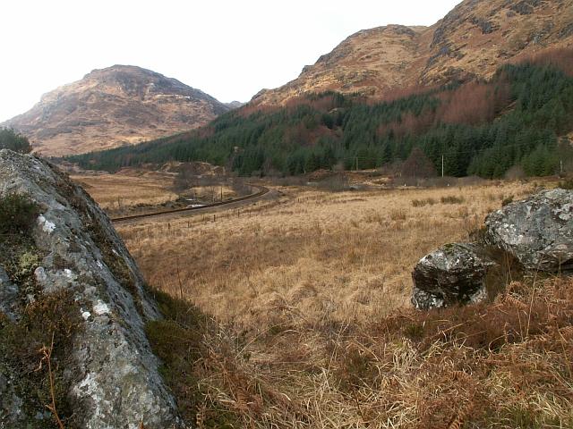 West Highland line near Glen Finnan