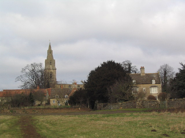 Carlby, with Church of St Stephen
