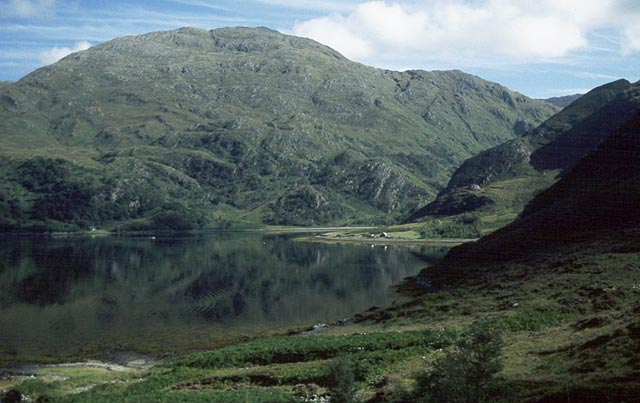 Upper Loch Hourn from the Barrisdale path