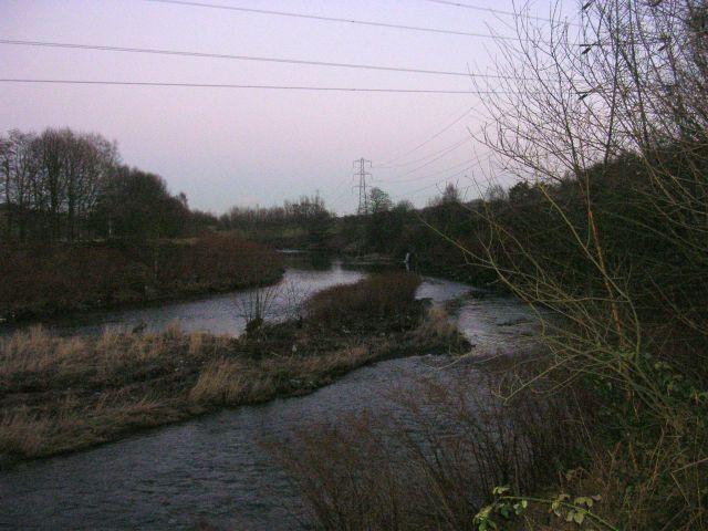 River Irwell near Ringley