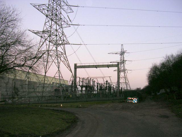 National Grid sub-station
