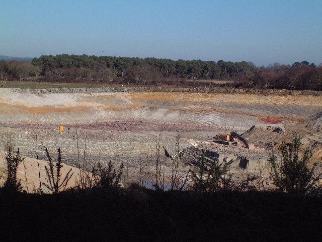 Clay Pit near Dorey's Farm