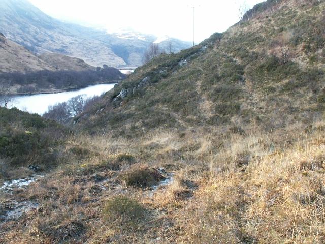 Old road above Loch Eilt