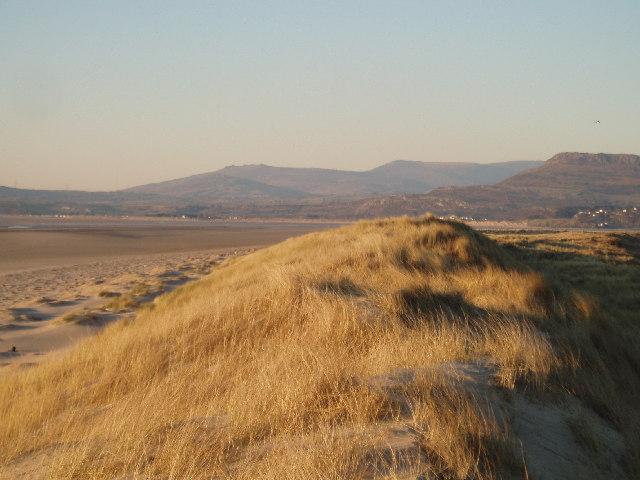 Dunes at Morfa Harlech