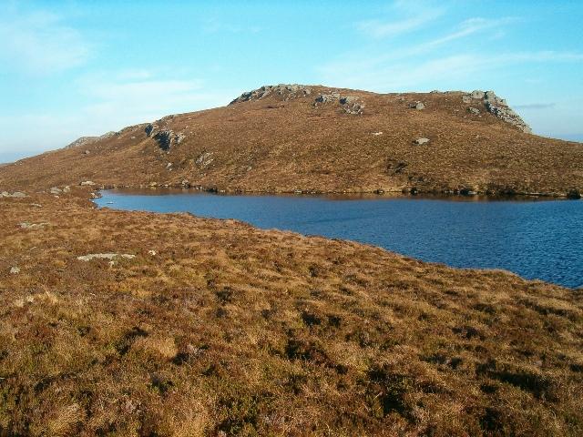 Lochan near Cruach Mhic Fhionnlaidh