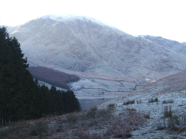 Harter Fell on a frosty morning.