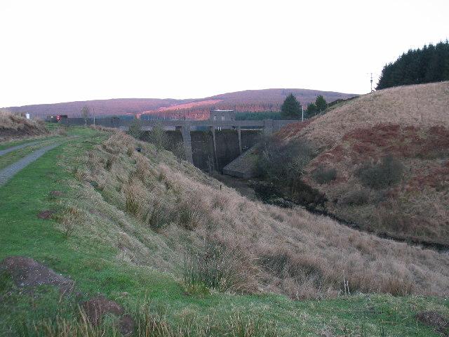 Lussa Dam, Kintyre.
