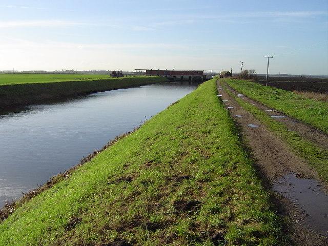 Bevill's Leam (Drain) sluice, Tebbitt's Bridge