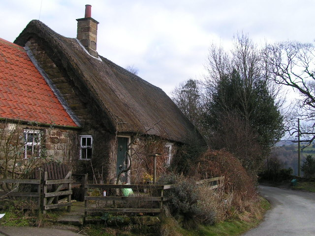 Thatched cottage at Delves