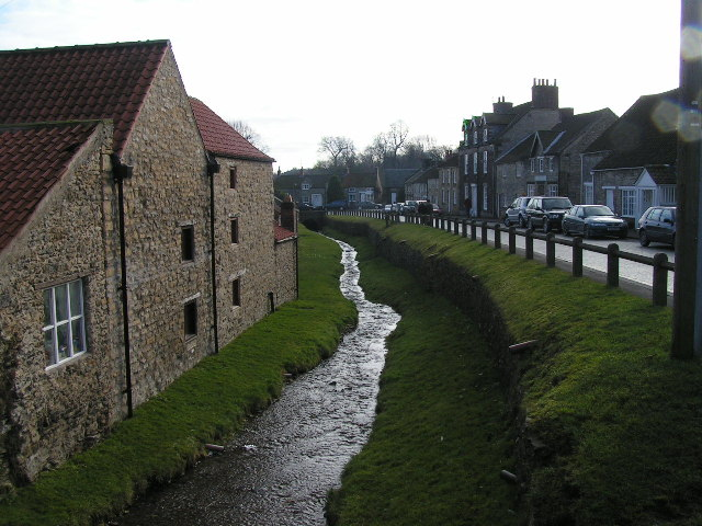 Castlegate and Borough Beck, Helmsley