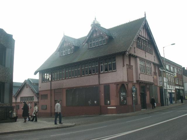 Disused nightclub, Norwich