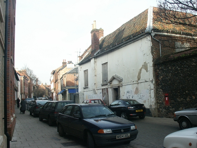 Old buildings, King Street