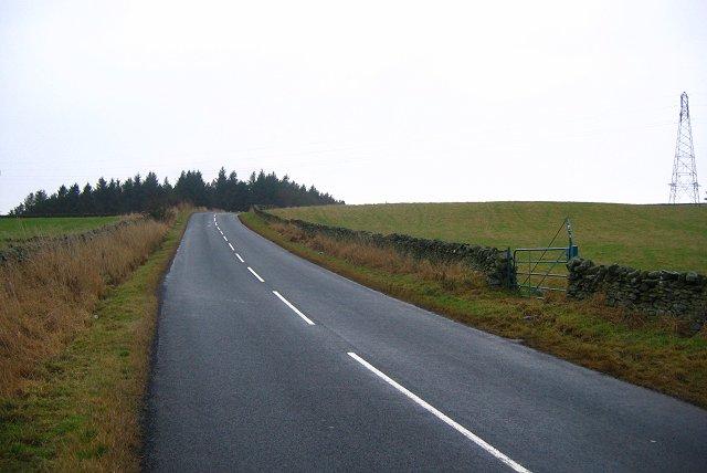 Lauder-Gala road, Threepwood.