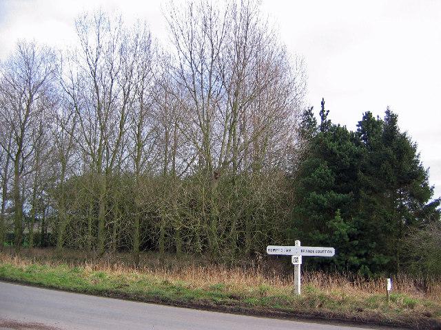 Junction Near Burshill Farm