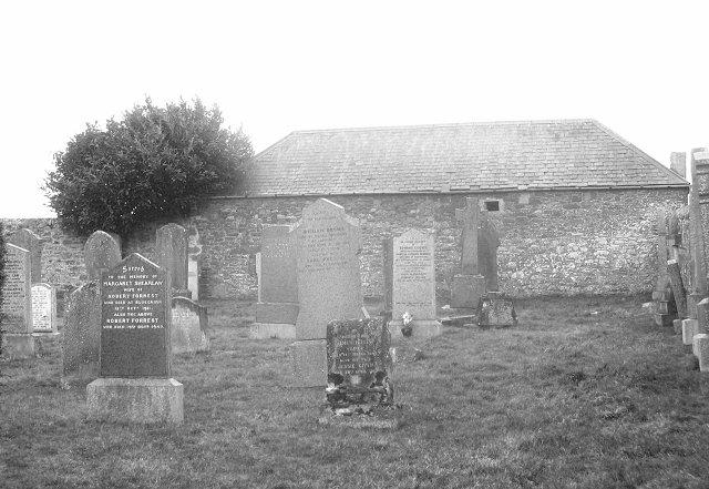 Lauder cemetery.