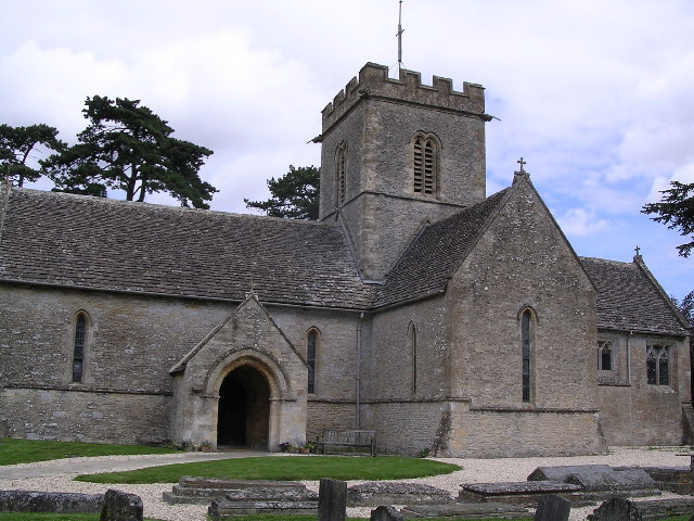 Meysey Hampton.  St.Mary's church