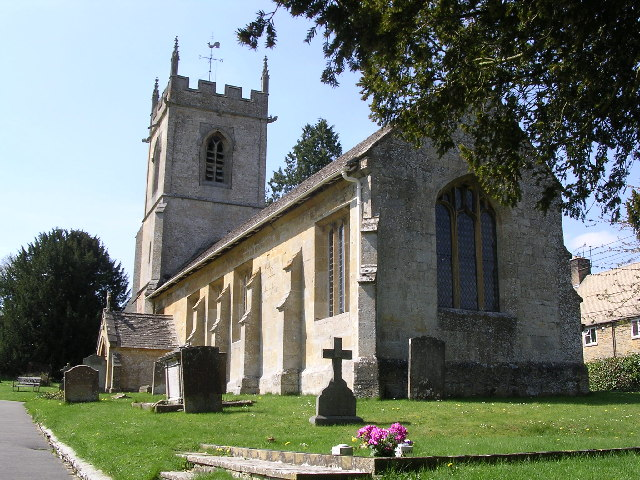 Naunton. St. Andrew's church