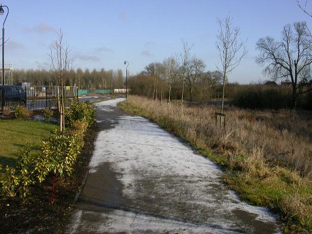 Footpath in Grange Park