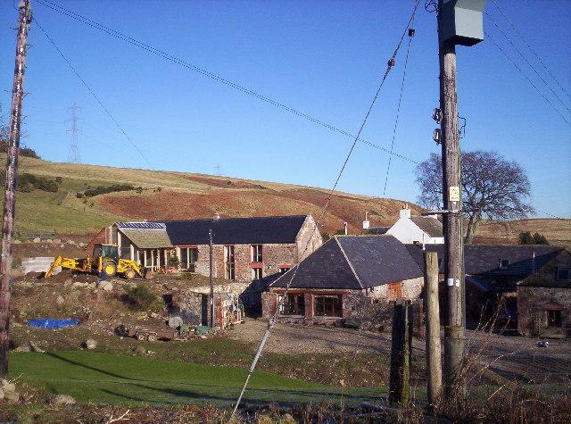 Barn Conversions at Kirkton of Balfour