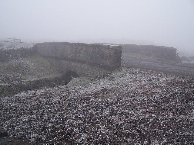 Bridge between Loch Thom and Gryfe reservoirs