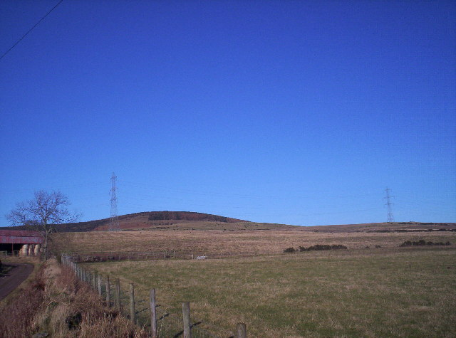 Hill beside Mains of Balfour