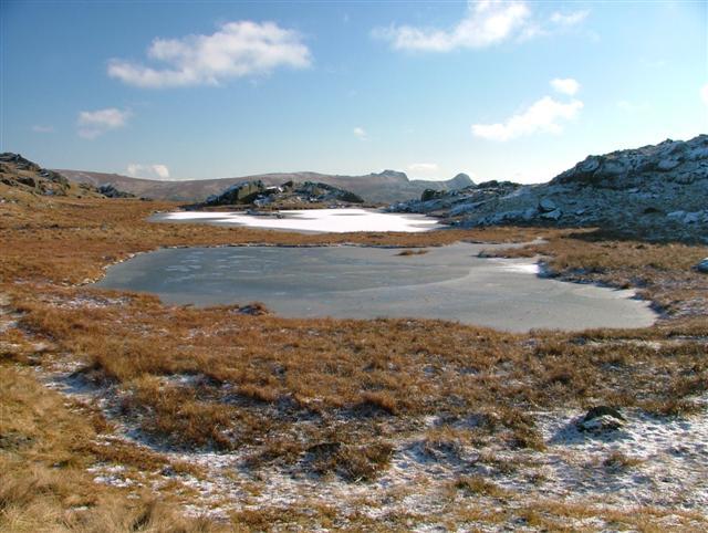 Small Un-named Tarn, Near Allen Crags