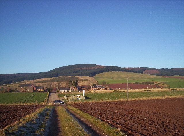 West Cairnbeg and Strathfinella Hill