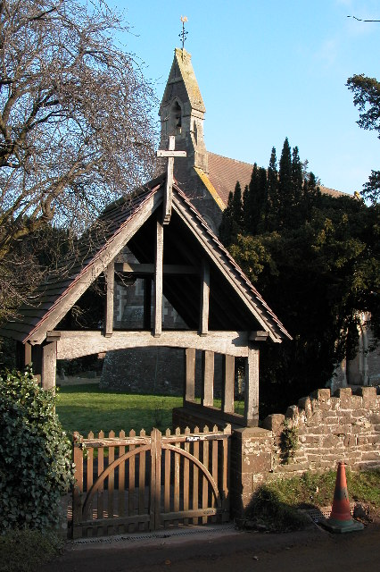 Lych Gate to Christ Church, Llangrove