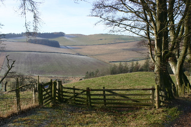 Farmland near Easter Housebyres