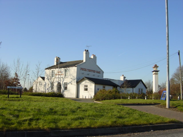 Four Topped Oak inn,  Widnes