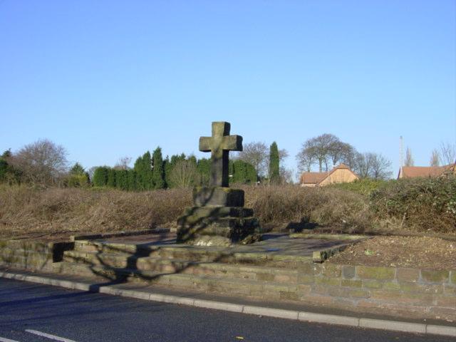 Ancient Stone Cross, Mill Lane