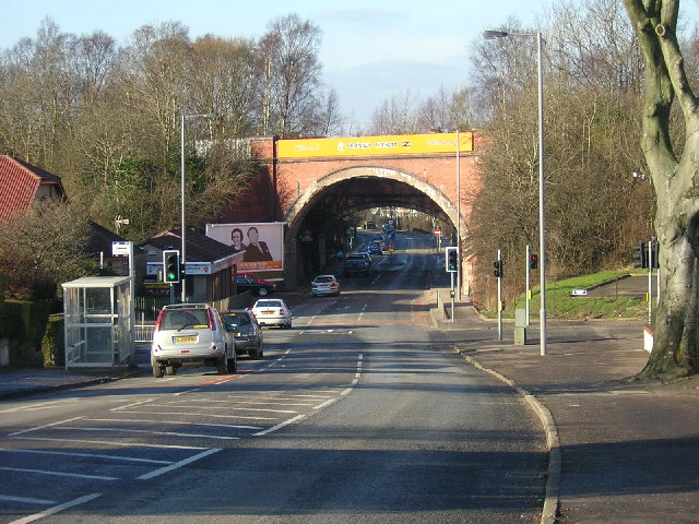 Disused Railway Bridge Near Williamwood Station