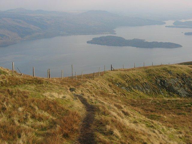 Southeast ridge, Beinn Dubh.