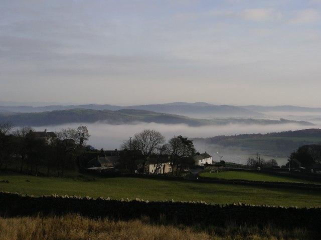Cottages at Gawthwaite, Cumbria