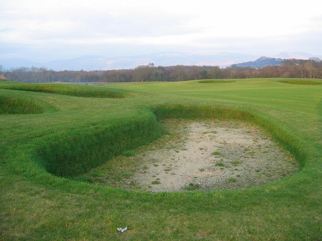 Nascent golf course.