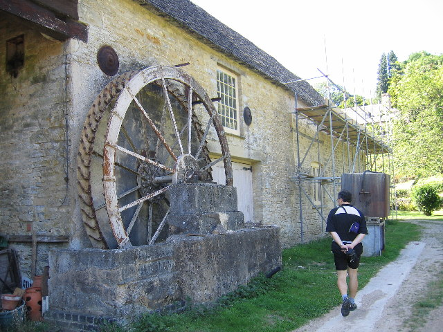 Old Water Wheel in Bagendon