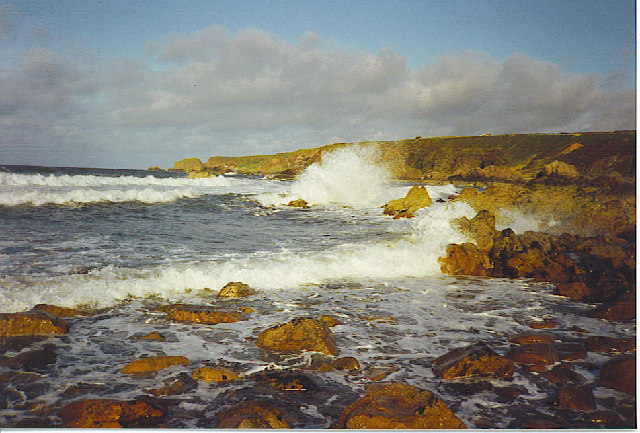 Rocky Coastline, East of Findochty.