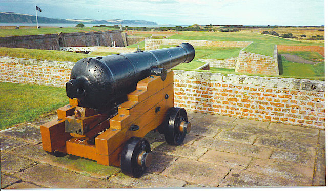 Cannon at Fort George.