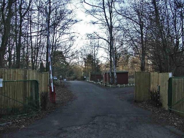 Cuffley Camp, Carbone Hill, Cuffley, Hertfordshire