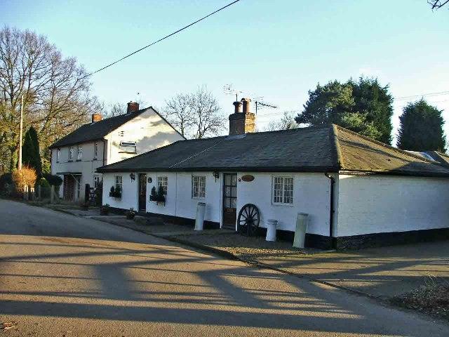 Cottages, Bucks Alley, near Epping Green, Hertfordshire