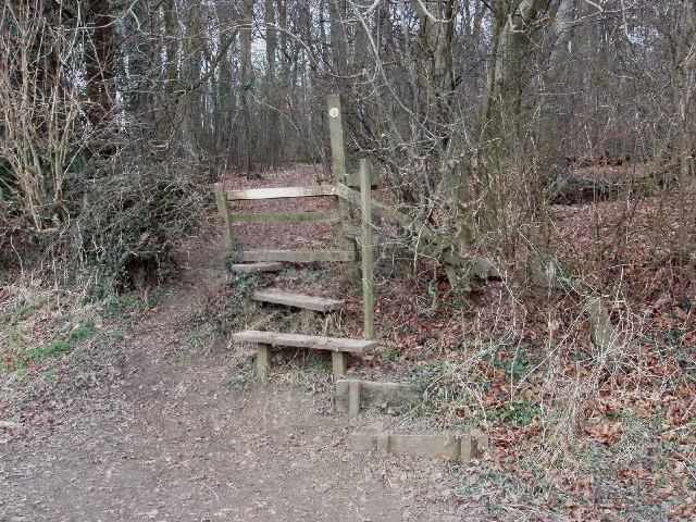 Stile, Rodger's Wood, near Amersham