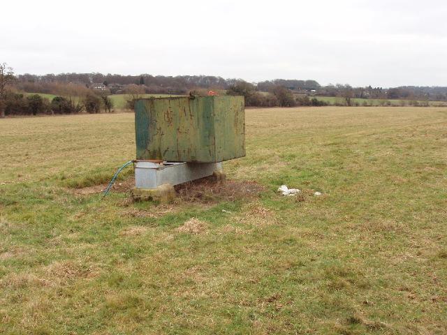 Water tank and trough, near Amersham