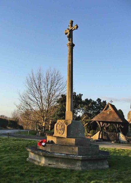 Bayford War Memorial, Bayford, Hertfordshire