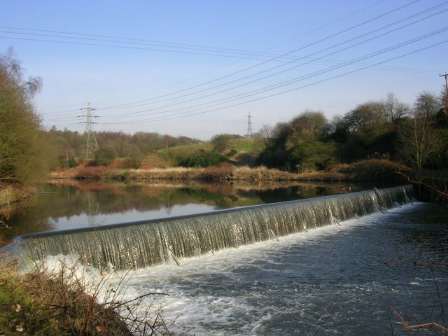 River Irwell at Ladyshore