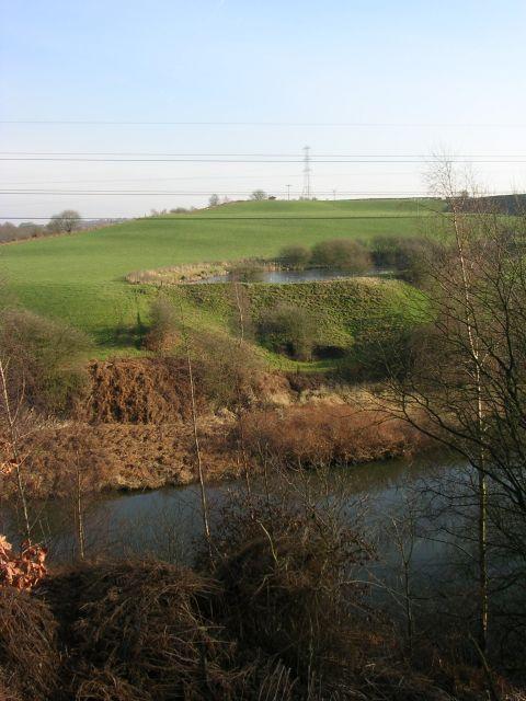 River Irwell at Ladyshore