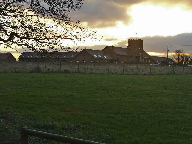 Clements Farm from Brickendon Lane, Hertfordshire