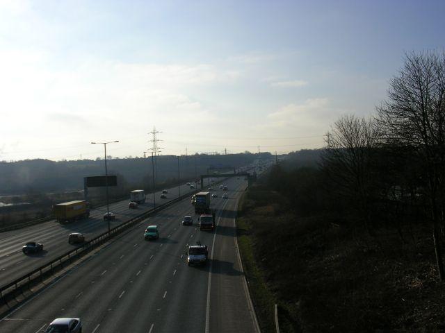 M60 Motorway at Clifton