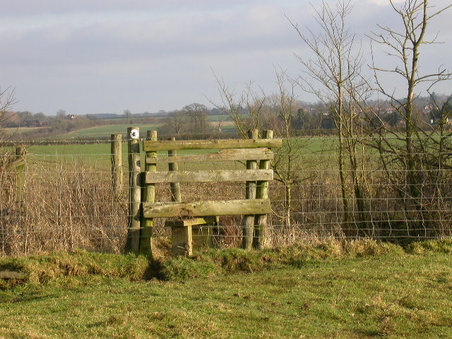 Stile near Wootton